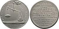 Zinnmedaille 1772, Diverse  Vorzüglich  100,00 EUR  + 6,00 EUR frais d'envoi