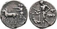 Tetradrachme 467/445 v. Chr. Sizilien  Sehr schön  6800,00 EUR envoi gratuit