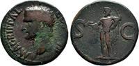Kaiserliche Prägungen As, Caligula für Agrippa.