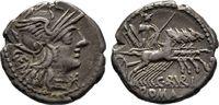 Denar 134 v. Chr., Republikanische Prägungen C. Aburius Geminus Sehr sc... 80,00 EUR  +  8,00 EUR 运费