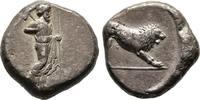 Tetradrachme,  Karien Dynast Hekatomnos, 395-377 v. Chr. Sehr schön  1200,00 EUR 免费寄运