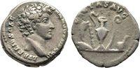 Kaiserliche Prägungen Denar Antoninus Pius für Marcus Aurelius.