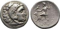 Drachme im Namen Alexanders III. d. Gr. 299/297 v. Chr., Makedonisches ... 160.45 US$  zzgl. 4.81 US$ Versand