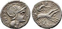 Denar 109/108 v. Chr., Republikanische Prägungen L. Flaminius Chilo Seh... 106.97 US$  zzgl. 4.81 US$ Versand