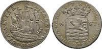 6 Stüber 1780 Niederlande  Sehr schön  125,00 EUR  + 6,00 EUR frais d'envoi