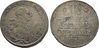 Diverse 1/6 Reichstaler preußisch Alexander, 1757-1791