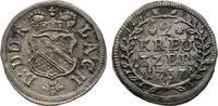 2 Kreuzer 1737. Diverse Karl Wilhelm, 1709-1738 Vorzüglich  60,00 EUR  +  8,00 EUR 运费