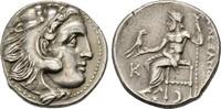 Drachme im Namen Alexanders III. des Großen 310/301 v. Chr., Makedonisc... 187.20 US$  zzgl. 4.81 US$ Versand