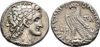 Tetradrachme 63 v. Chr., Reich der Ptolemaier Ptolemaios XII. Neos Dion... 250,00 EUR  + 6,00 EUR frais d'envoi
