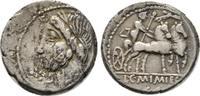 Republikanische Prägungen Denar L. und C. Memmius Galerius