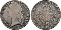 Ecu au bandeau 1767 I, Frankreich Ludwig XV., 1715-1774 Fast Sehr schön  53.48 US$  zzgl. 4.81 US$ Versand