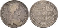 Crown 1679, Grossbritannien Karl II., 1660-1685 Fast sehr schön  280,00 EUR  +  8,00 EUR 运费