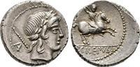 Denar 82 v. Chr., Republikanische Prägungen P. Crepusius Vorzüglich  220,00 EUR  + 6,00 EUR frais d'envoi
