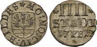 4 Pfennig 1717. Diverse  Sehr schön  35,00 EUR  +  8,00 EUR 运费