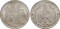 3 Mark 1929 A, WEIMARER REPUBLIK  Fast Stempelglanz  144.41 US$  zzgl. 4.81 US$ Versand