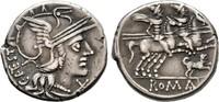 Denar 146 v. Chr., Republikanische Prägungen C. Antestius Sehr schön  100,00 EUR  +  8,00 EUR 运费