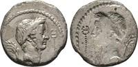 Republikanische Prägungen Denar L. Livineius Regulus