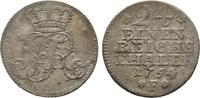 1/24 Taler 1754, Diverse Friedrich II. der Große, 1740-1786 Sehr schön  64.18 US$  zzgl. 4.81 US$ Versand