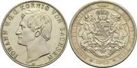 Vereinsdoppeltaler 1861 B Sachsen Johann 1854-1873 vz  360,00 EUR  plus 14,90 EUR verzending