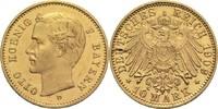 Bayern, Königreich 10 Mark Otto 1886-1913