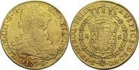 8 Esudos 1796 DA Chile Karl IV. ss  1180,00 EUR  plus 19,80 EUR verzending