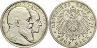 Baden, Großherzogtum 5 Mark Friedrich I. 1856-1907