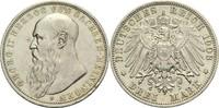 3 Mark 1908 D Sachsen-Meiningen Georg II. 1866-1914 min. Rf., min. Schr... 150,00 EUR  plus 14,90 EUR verzending