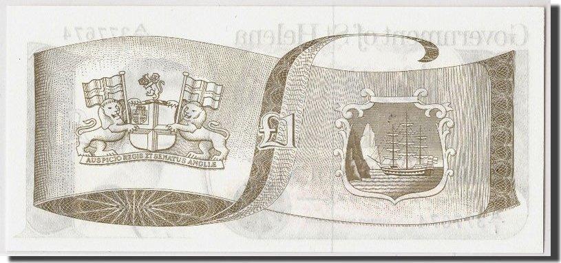 1 Pound undated (1981) Saint Helena UNC(65-70)