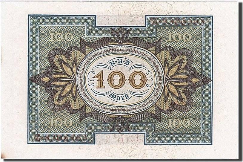 100 Mark 1920 Deutschland UNC(64)