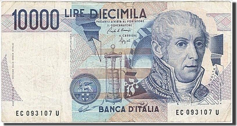 10,000 Lire 1984 Italien EF(40-45)