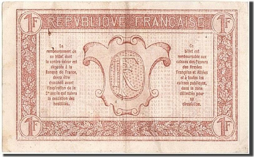 1 Franc 1917 Frankreich EF(40-45)