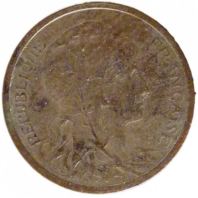 Centime 1909 Paris Frankreich Dupuis AU(55-58)