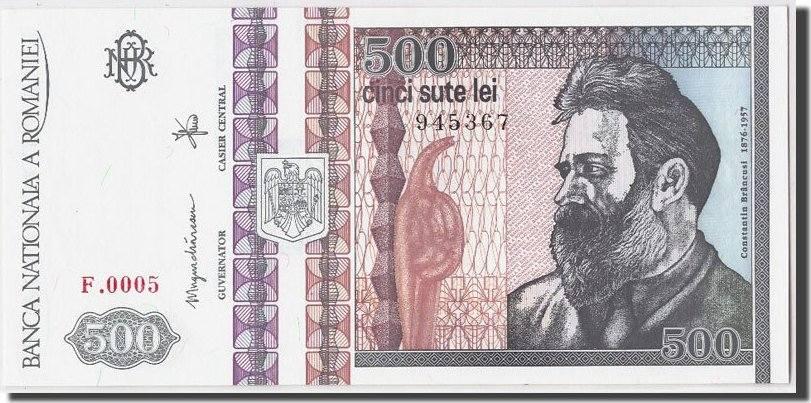 500 Lei 1992 Rumänien UNC(65-70)