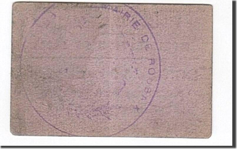 50 Centimes 1914 Frankreich Roubaix, VZ, Pirot:59-3164 VZ