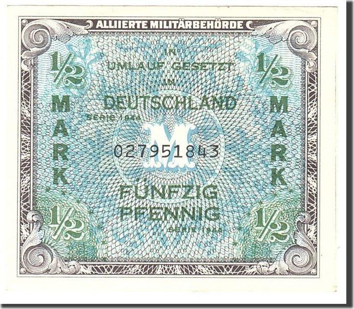 1/2 Mark 1944 Deutschland AU(55-58)