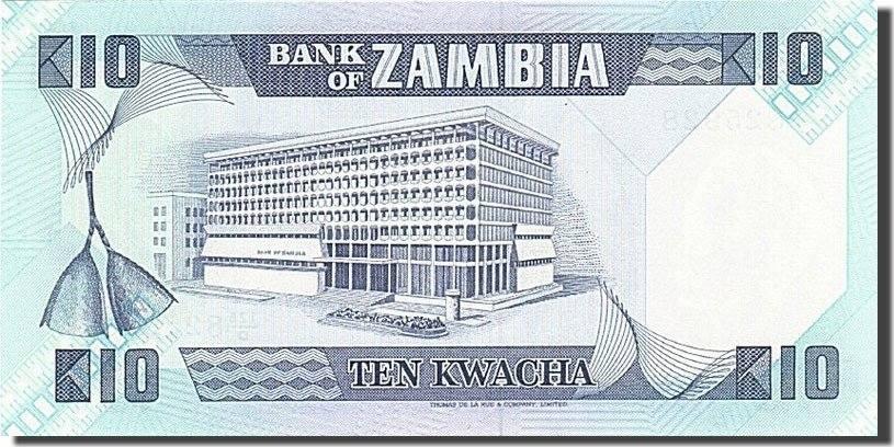 10 Kwacha 1980-1988 Sambia UNC(65-70)