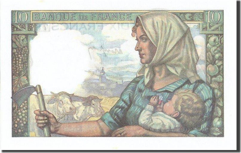 10 Francs 1941 Frankreich 10 F 1941-1949 ''Mineur'', KM:99a, 1941-09-11, U... UNZ-