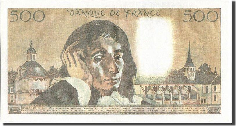 500 Francs 1975 Frankreich UNC(63)
