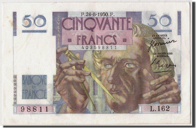 50 Francs 1950 Frankreich AU(50-53)