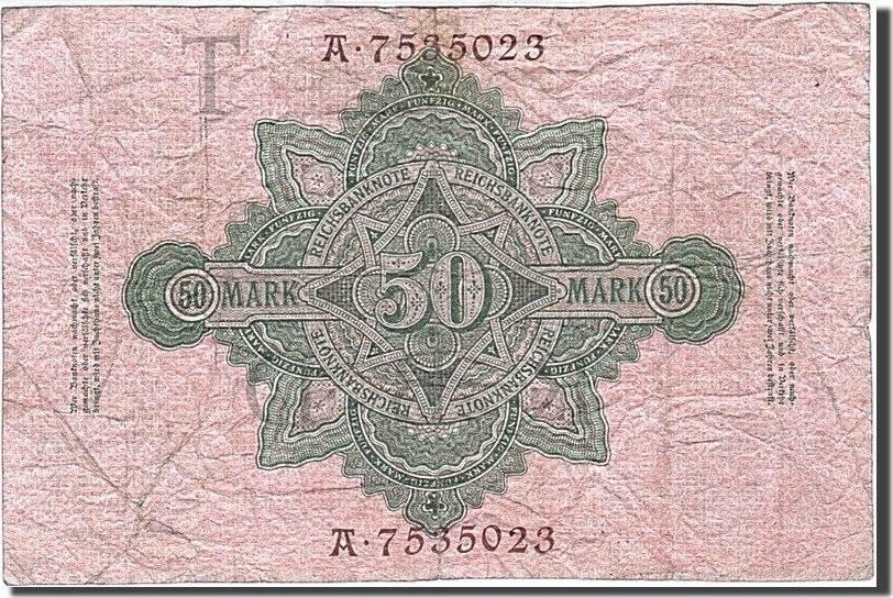 50 Mark 1910 Deutschland EF(40-45)