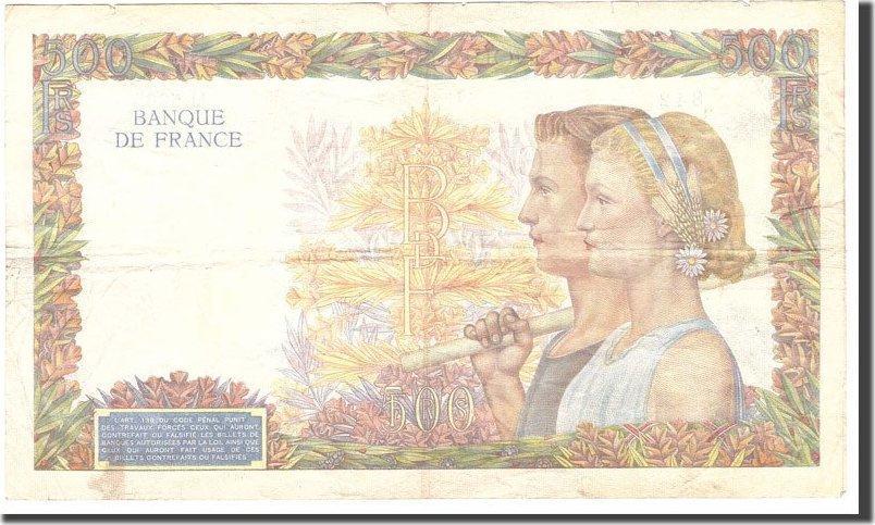 5000 Francs 1942 Frankreich VF(30-35)