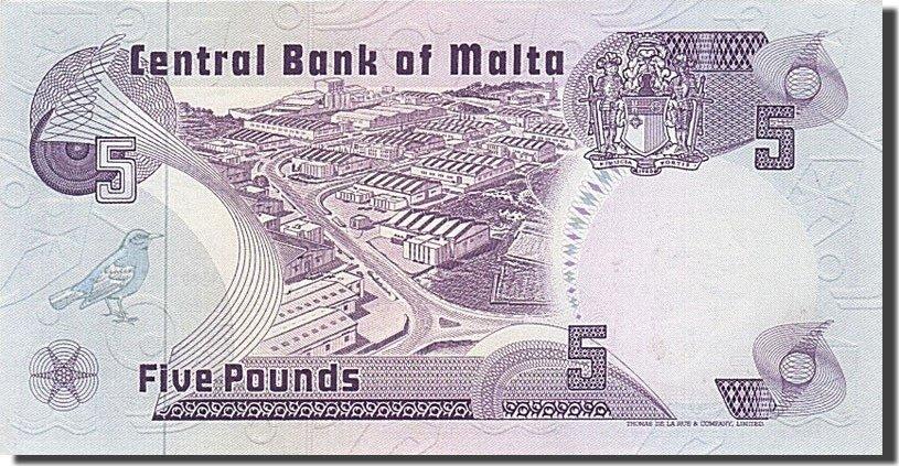 5 Liri 1979 Malta UNC(65-70)