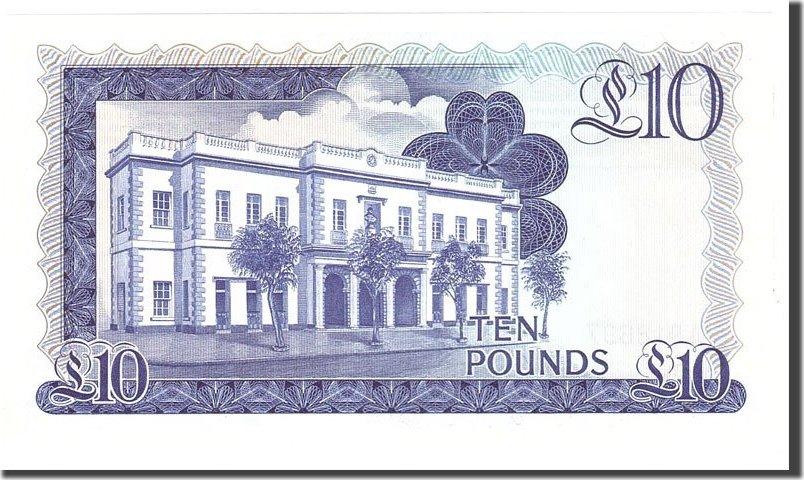 10 Pounds 1986 Gibraltar UNC(65-70)