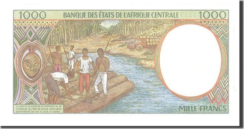 1000 Francs 2000 Zentralafrikanische Staaten UNC(65-70)