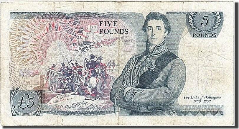 5 Pounds 1971-1982 Großbritannien VF(20-25)