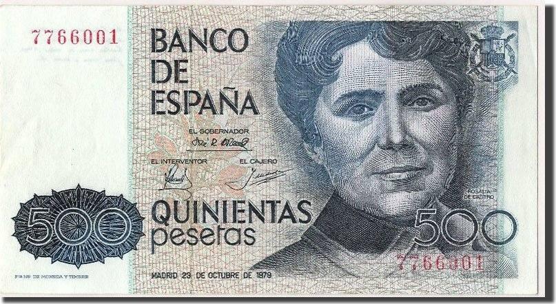 500 Pesetas 1979 Spanien UNC(63)