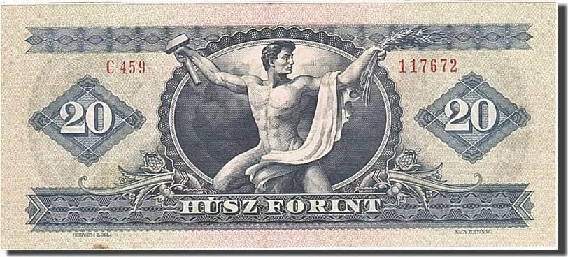 20 Forint 1957-1983 Ungarn AU(55-58)