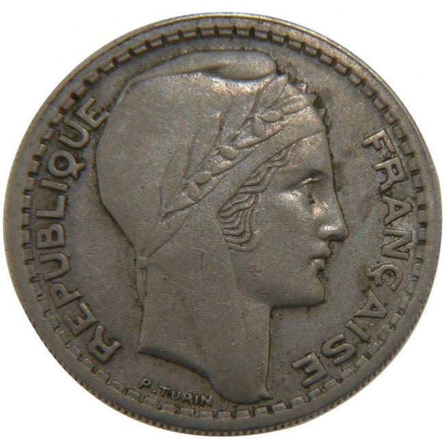 10 Francs 1945 Frankreich Turin AU(50-53)