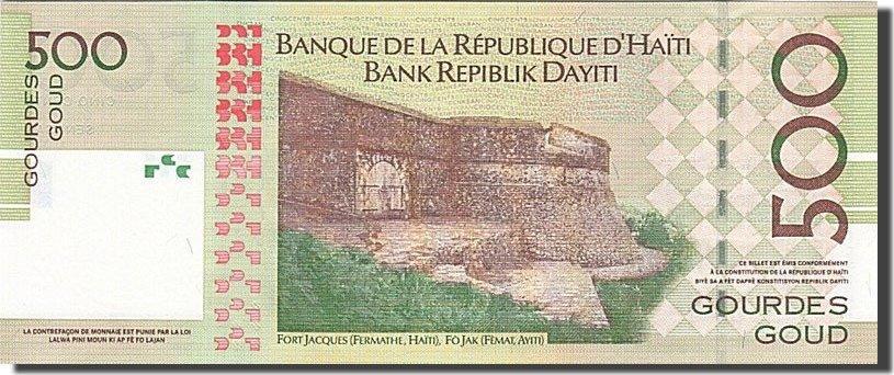 500 Gourdes 2004 Haiti KM:277a UNC(65-70)