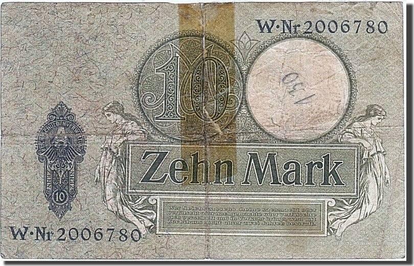 10 Mark 1904-1906 Deutschland F(12-15)